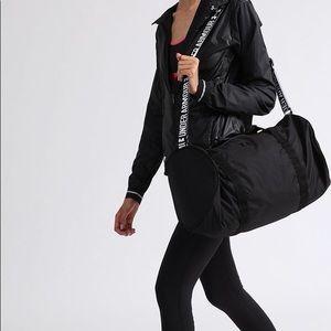 All black UA Favorite Duffle Bag